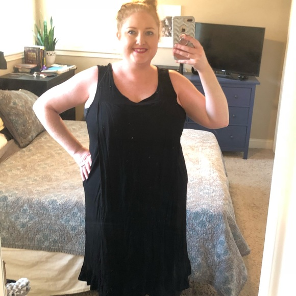 Plus size nursing dress